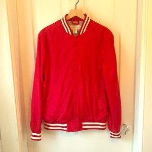 H&M Red Varsity Jacket